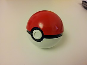 Working pokeball / Pokeball fonctionnelle