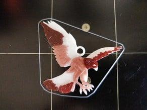 Bird of Prey Keychain