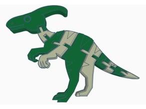 Flexi Parasaurolophus Remix