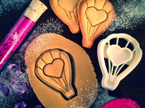 Love Balloon Cookie Cutter