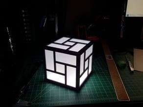 Japanese style light box