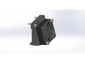 UPGRADED Raise3D N2 - Pro2 Style Fan Upgrade [Mk2]