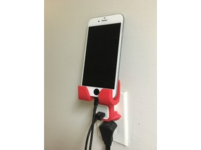 iPhone Outlet/Wall Holder