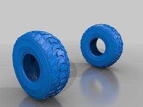 8x8 truck wheel