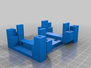 Mk8 Extruder mount for Prusa i3 Rework
