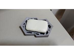 Voronoi Soap Dish w/ Base