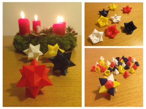 Christmas Star Puzzle 55mm