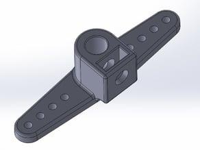 Servohebel für Durchmesser 4mm