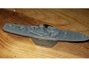 British Steam Gun Boat 1/300