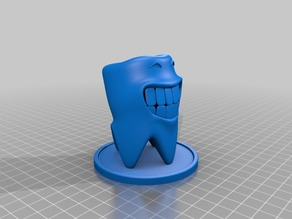 smile tooth with stand