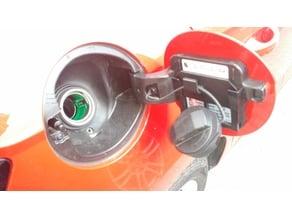 Skoda Fabia MK3 fuel cap holder