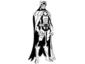 Owlman stencil