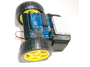 Compact Arduino Robot Chassis