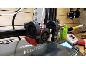 Left Ender 3 50mm Fan