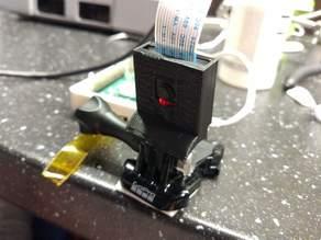 Raspberry Pi Camera Rev 1.3 GoPro Mount Cover Housing