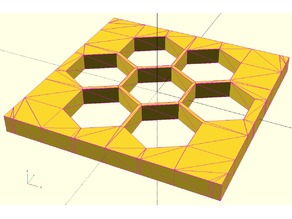 Parametric hexGrid Polyhedron