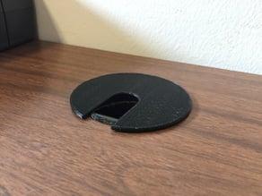 "Desk cable wire grommet 2.5"", 63.5 mm"