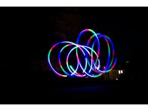 RGB-LED Poi Case