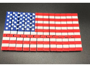 Articulated American Flag