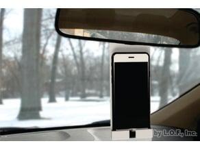 Phone mirror support/Soporte para celular en espejo retrovisor