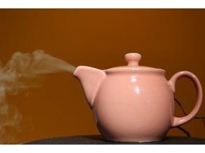 Tea pot humidifier