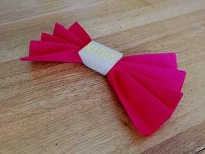 Customizable napkin ring (Anneau de serviette personnalisable)