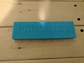 Eclipse Glasses Case