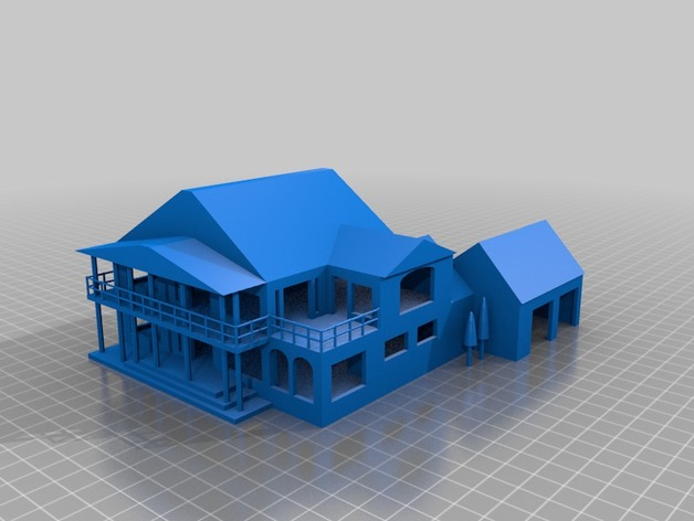 Tinker cad house by hpucismjrbb85 thingiverse Tinkercad 3d