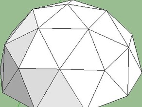 Dean's Geodesic Dome and N-gon Pyramid Maker