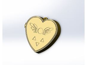 Undertale Music Box And Locket.