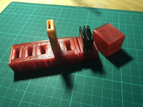 SD card and USB stick holder with cover