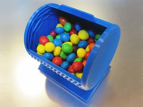 Print-In-Place Roll-Top Snack Bin