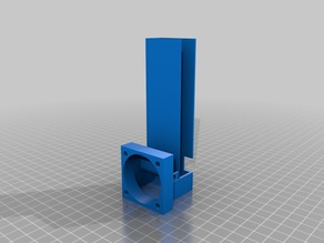 Fan shroud for stepper drivers (Anycubic i3 Mega)