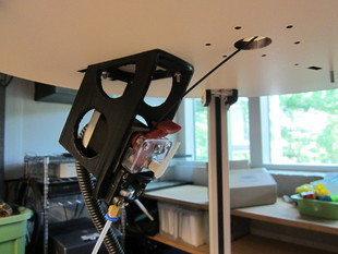 Rostock Max EZStruder Top Plate Mount and Spool Holder