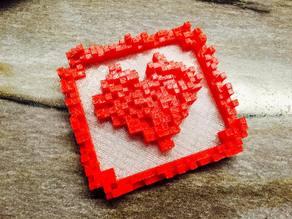 8-bits Heart - Variation
