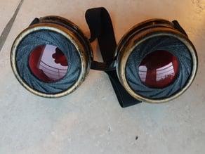 Iris lens for Steampunk Goggles (fake Iris)