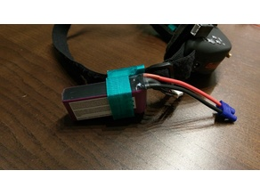 FPV Goggle battery mount