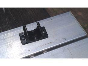 Folding slat camping table clip