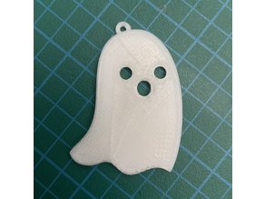 Ghost Halloween Keychain (Armless)