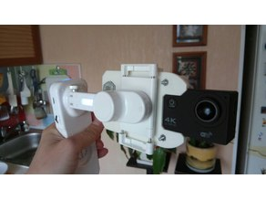 X-CAM Sight 2 action camera adapter