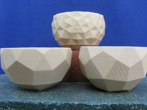 Three Closely Related Bowls