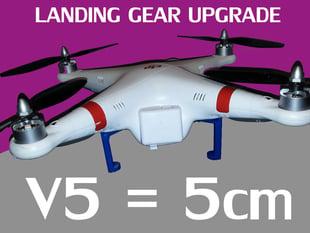 V5 DJI Phantom Landing Gear BUSTMOLD LEGS 5cm