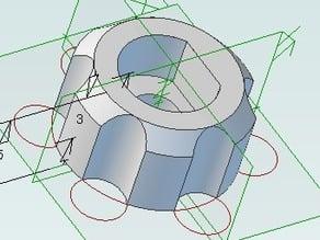 M3 Thumbscrew