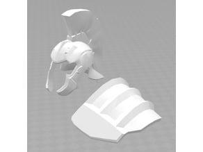 """Hulk Helmet & Shoulder Pad """"Thor Ragnarok"""
