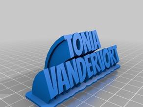 Tonia Vandervort CAPS