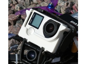 GoPro Hero 4 on Fauna FPV-frame