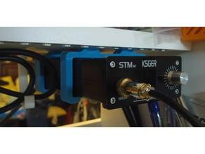 Ceiling mount (bracket) for STM32 Solder station case