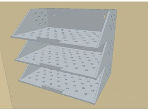 Concept A4 Wall mountable paper tray - large print 320x320mm