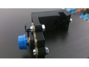 Bed Levelling Probes for Anycubic Kossel with Pushbutton Octopus brick by Elecfreaks