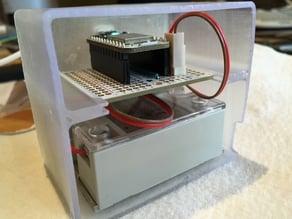 Humidifier controller case